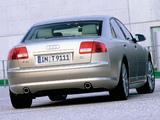 Audi A8 3.7 quattro (D3) 2003–05 pictures