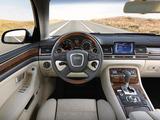Audi A8 4.2 quattro (D3) 2005–08 images