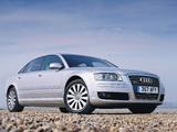 Audi A8L 6.0 quattro UK-spec (D3) 2005–08 images