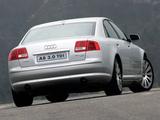 Audi A8 3.0 TDI quattro ZA-spec (D3) 2005–08 wallpapers
