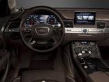 Audi A8L 4.2 FSI quattro US-spec (D4) 2010 pictures