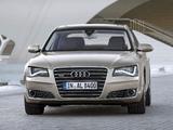 Audi A8L W12 quattro (D4) 2010 pictures