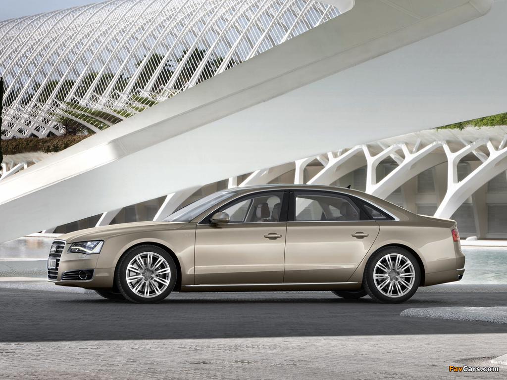Audi A8l W12 Quattro D4 2010 Pictures 1024x768