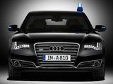 Audi A8L W12 Security (D4) 2011 pictures
