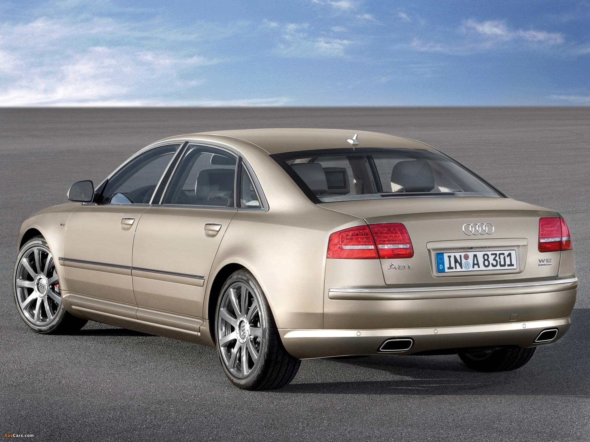 Images Of Audi A8l W12 Quattro D3 2008 10 2048x1536