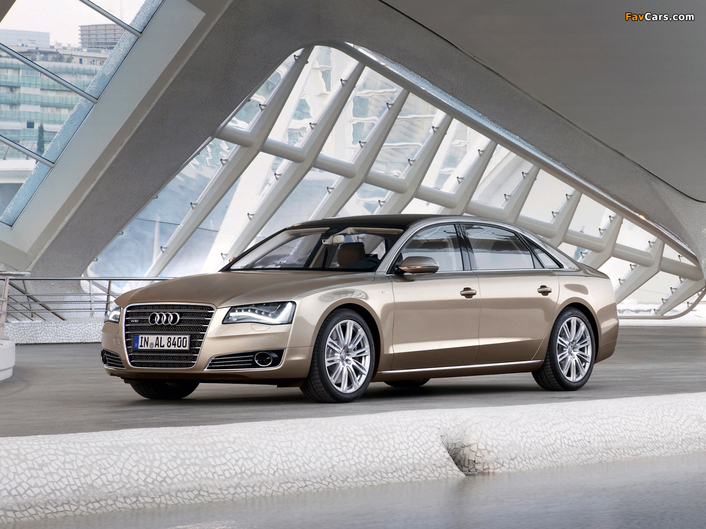 Images Of Audi A8l W12 Quattro D4 2010 1024x768