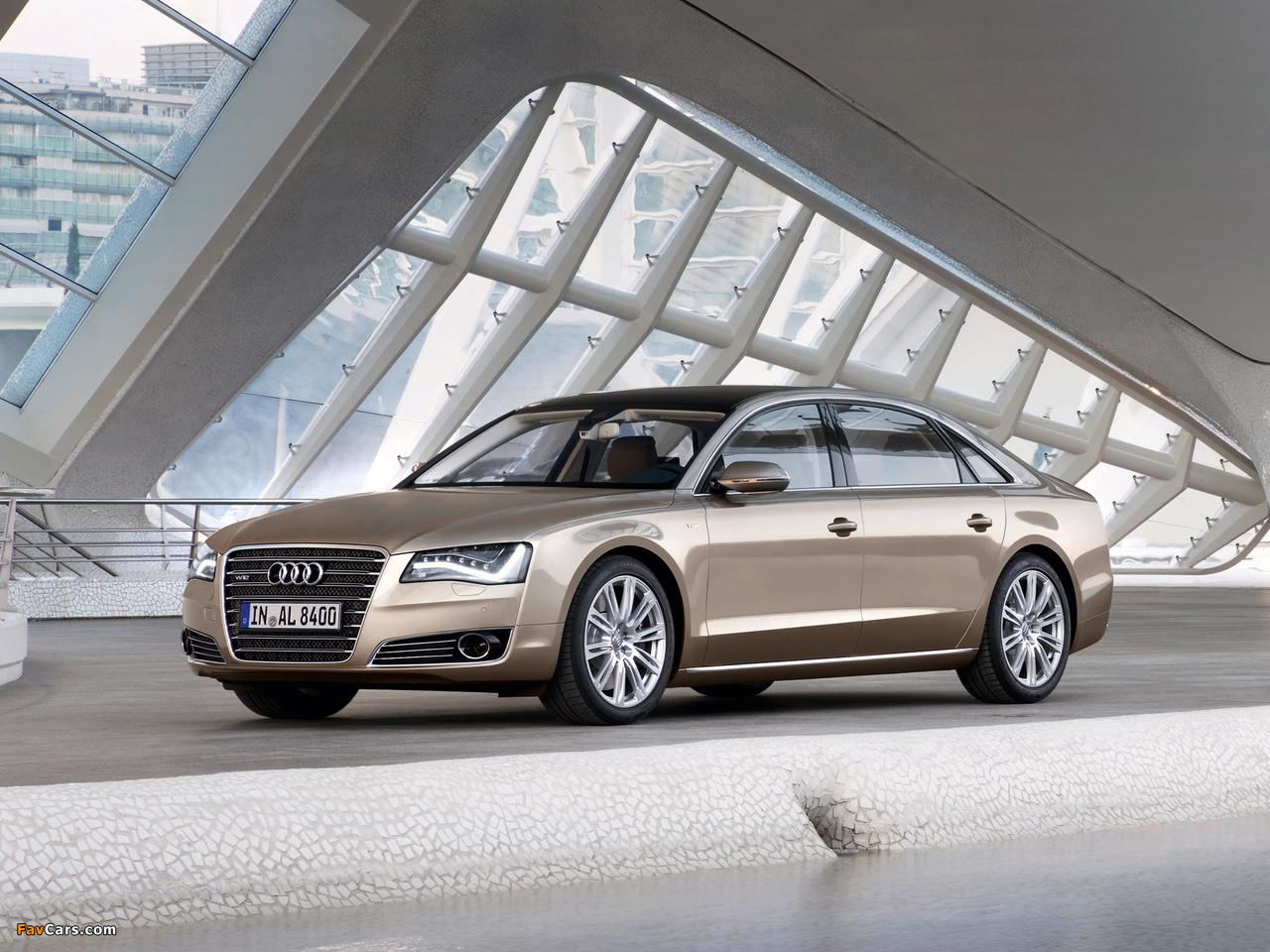 Images Of Audi A8l W12 Quattro D4 2010 1280x960