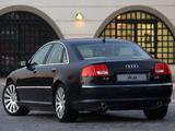 Photos of Audi A8 4.2 quattro ZA-spec (D3) 2003–05