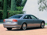 Photos of Audi A8 4.2 quattro (D3) 2003–05