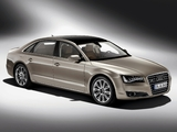 Photos of Audi A8L W12 quattro (D4) 2010