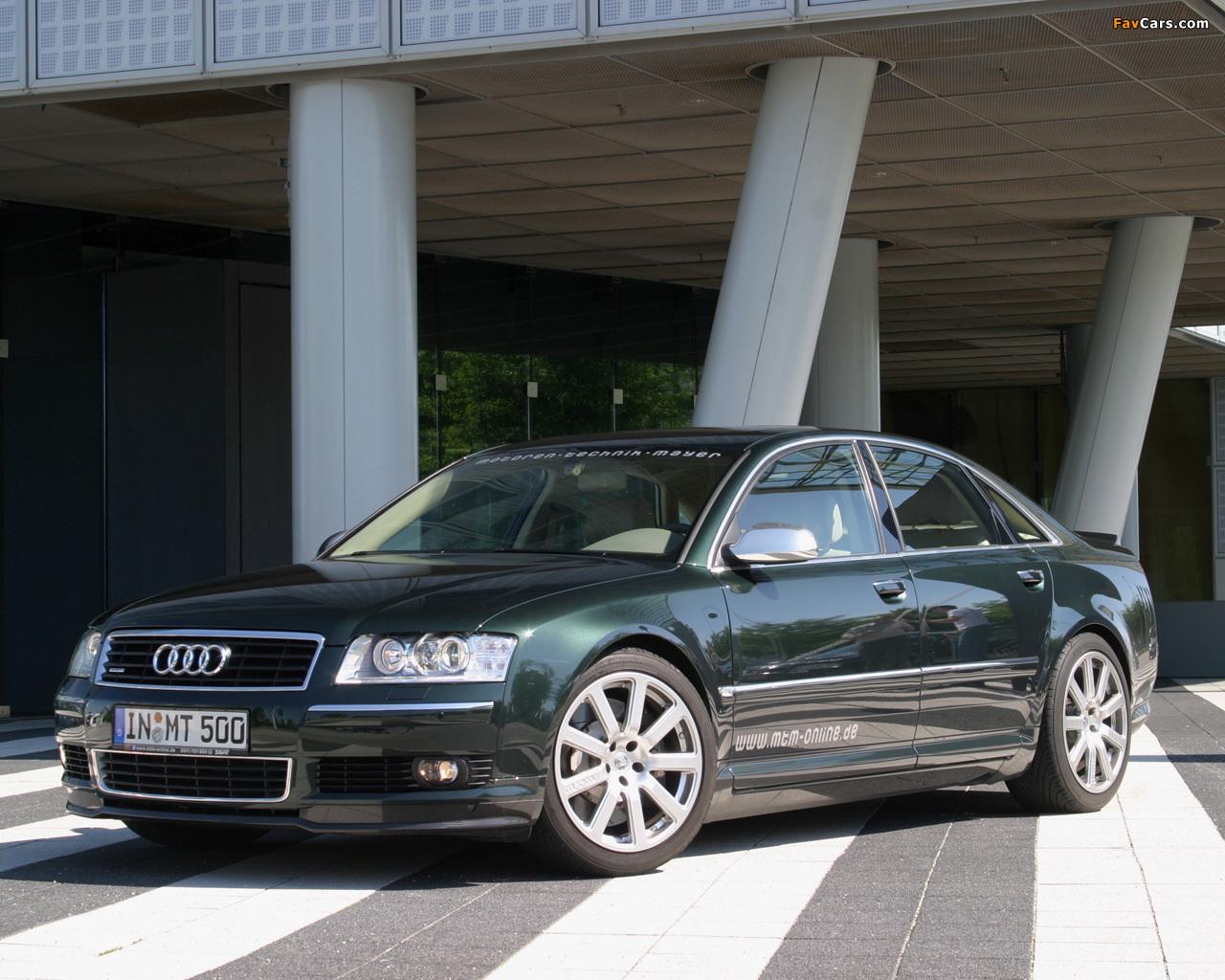 Mtm Audi A8 D3 Wallpapers 1280x1024