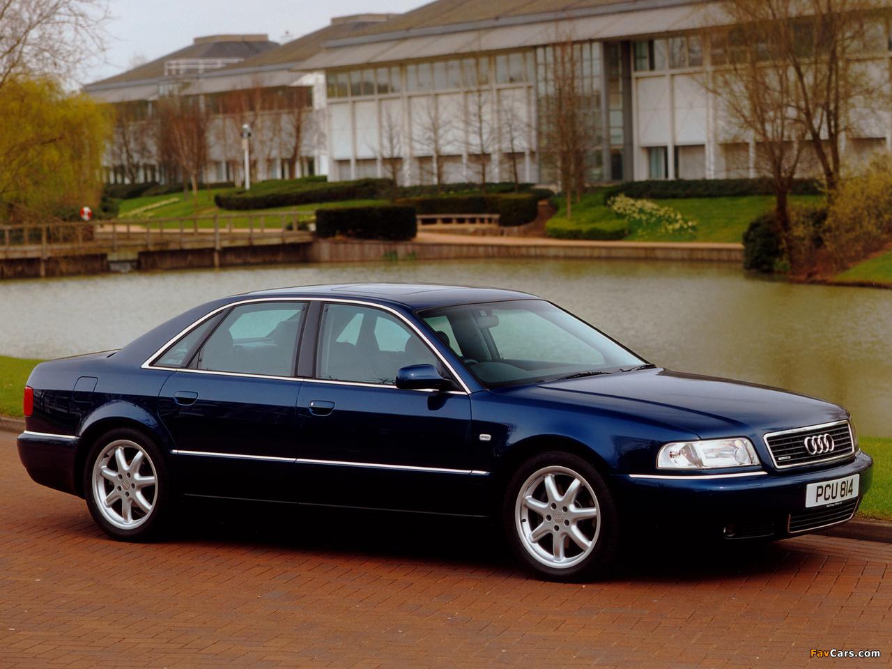 Audi A8 3 7 Quattro Uk Spec D2 1999 2002 Wallpapers