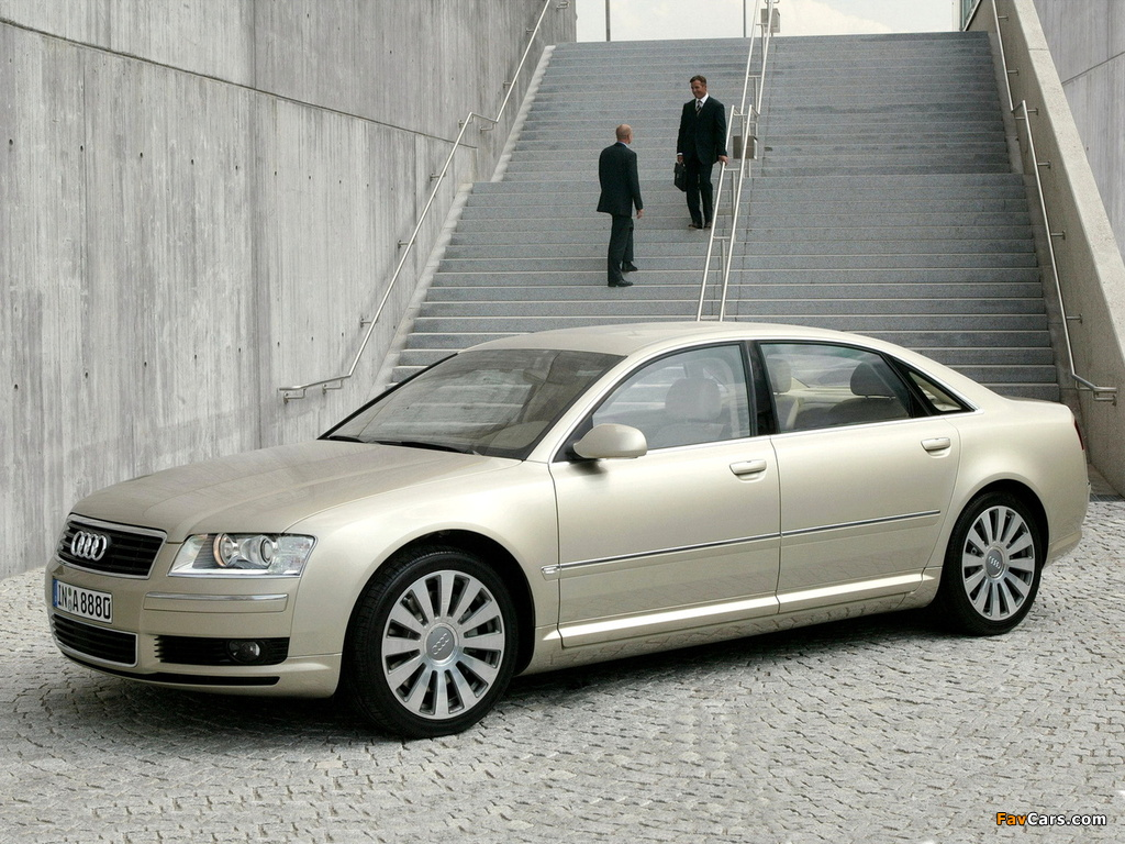 Audi A8l 4 2 Quattro D3 2004 05 Wallpapers 1024x768