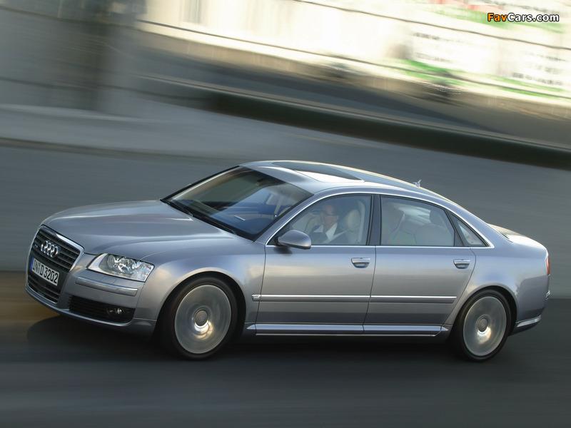 Audi A8l 6 0 Quattro D3 2005 08 Wallpapers 800x600