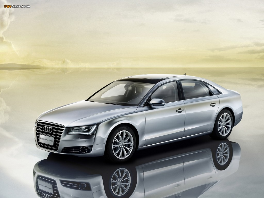 Audi A8l 3 0t Quattro D4 2010 Wallpapers 1024x768