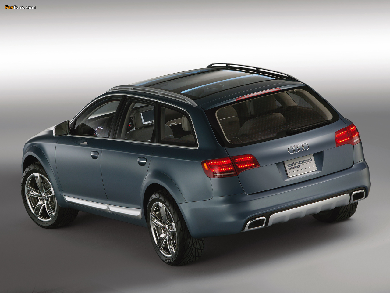 Audi Allroad Quattro Concept 4f C6 2005 Images 1280x960