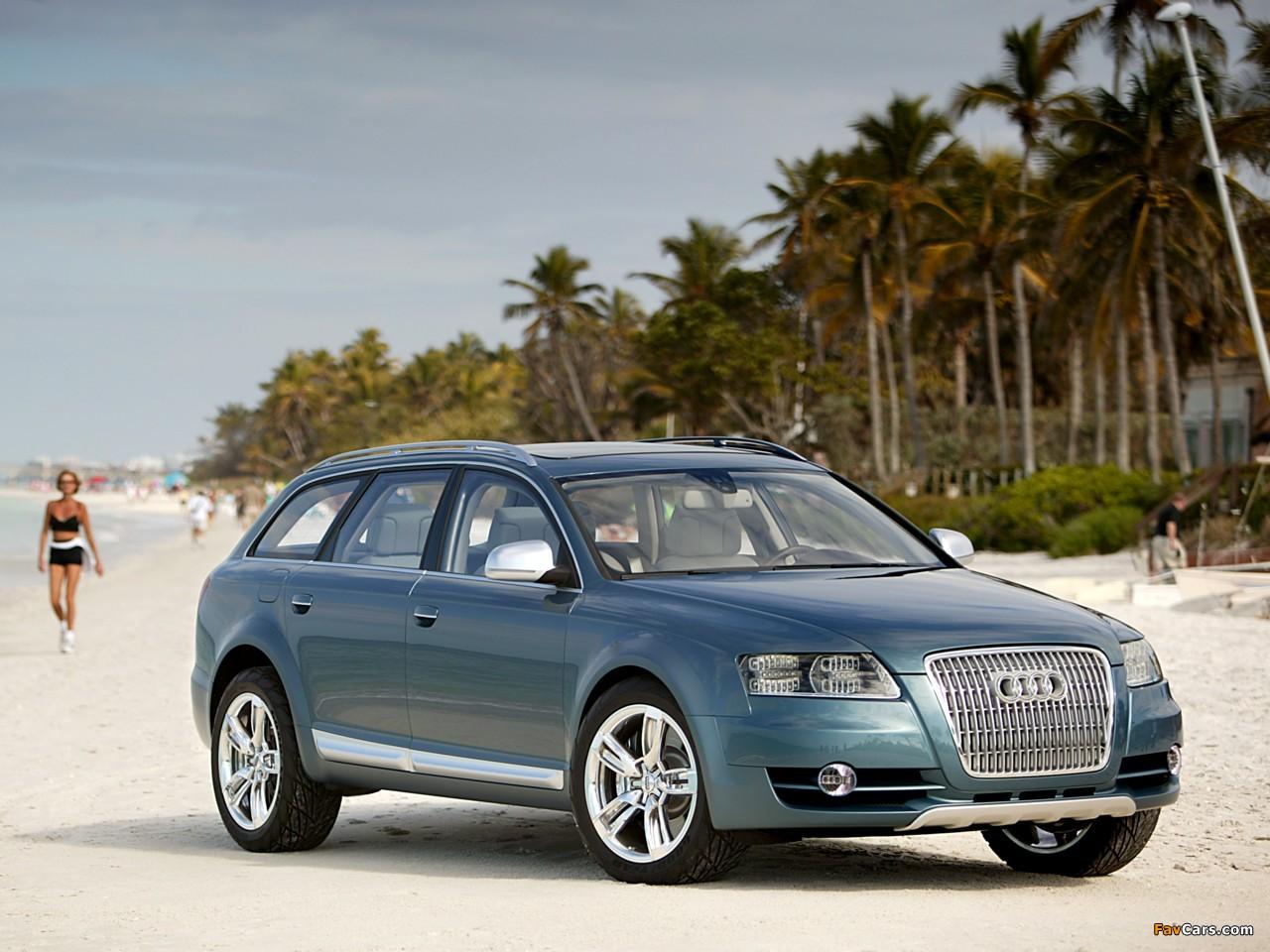 Audi Allroad Quattro Concept 4f C6 2005 Pictures 1280x960