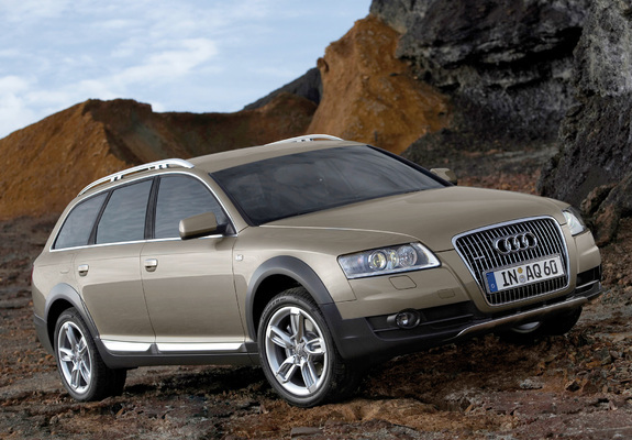audi a6 allroad 3 0 tdi quattro 4f c6 2006 08 wallpapers. Black Bedroom Furniture Sets. Home Design Ideas