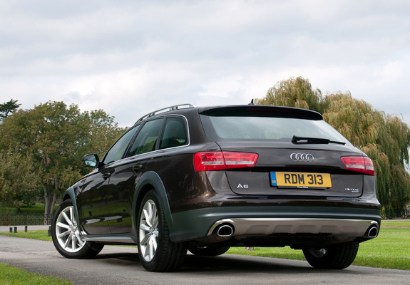 audi a6 allroad 3 0 tdi quattro uk spec 4g c7 2012 pictures. Black Bedroom Furniture Sets. Home Design Ideas
