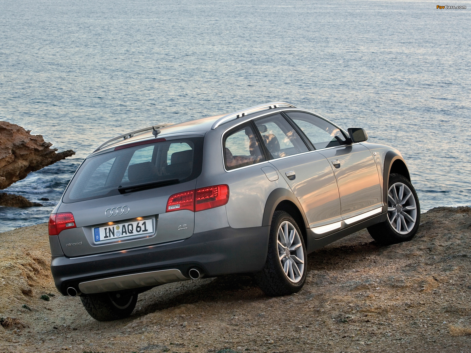 Images Of Audi A6 Allroad 4 2 Quattro 4f C6 2006 08