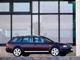 Pictures of Audi Allroad 4.2 quattro (4B,C5) 2000–06