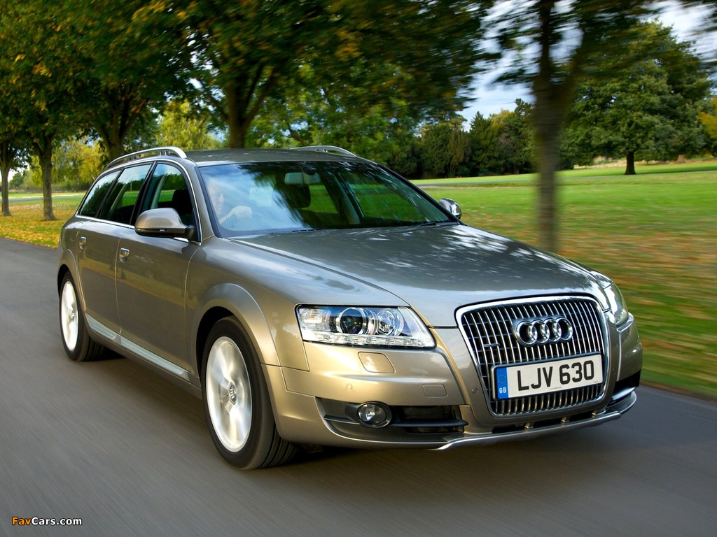 Pictures Of Audi A6 Allroad 2 7 Tdi Quattro Uk Spec 4f C6