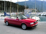 Audi Cabriolet UK-spec (8G7,B4) 1991–2000 photos