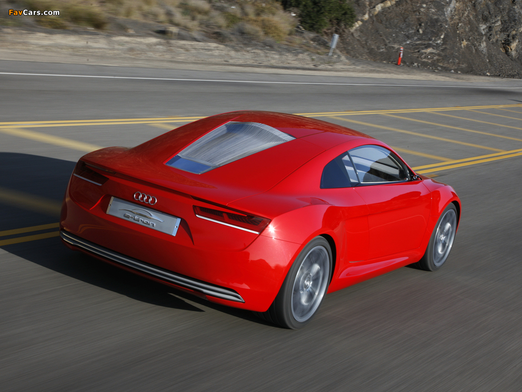 Audi E Tron Concept 2009 Wallpapers 1024x768