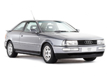 Audi Coupe UK-spec (89,8B) 1989–91 wallpapers