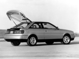 Images of Audi Coupe quattro US-spec (89,8B) 1989–91