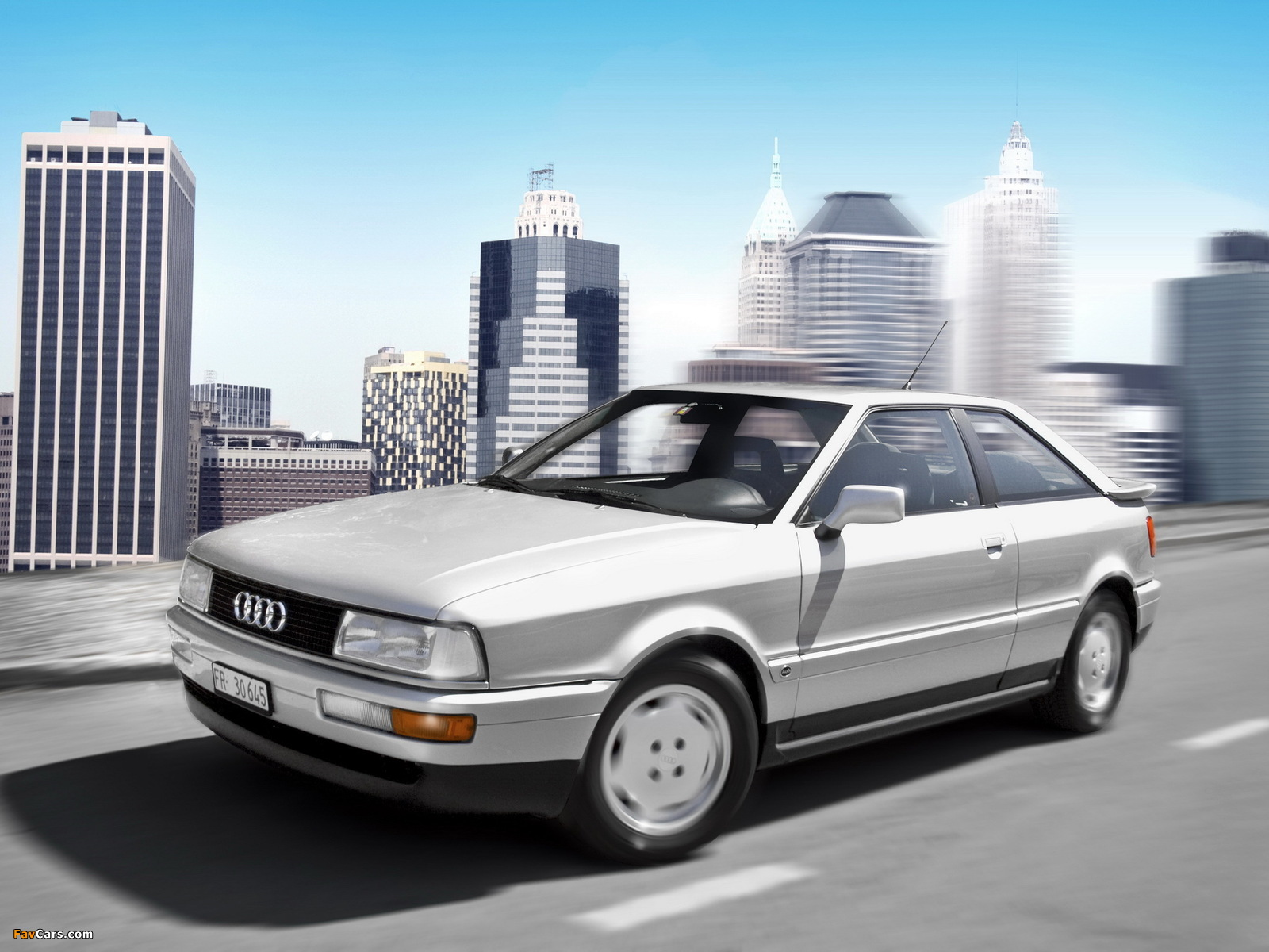 Audi Coupe (89,8B) 1988–91 wallpapers (1600 x 1200)