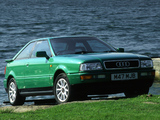 Audi Coupe UK-spec (89,8B) 1991–96 wallpapers