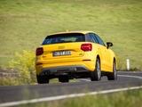 Audi Q2 TDI quattro sport AU-spec 2017 photos