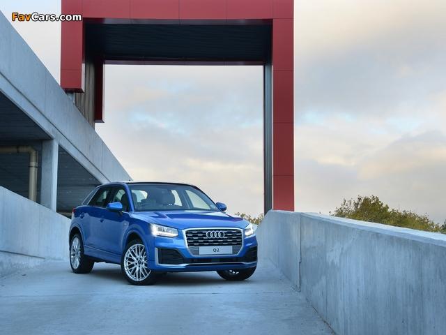 Audi Q2 TFSI S line ZA-spec 2017 pictures (640 x 480)