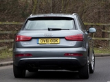Audi Q3 2.0 TDI quattro UK-spec 2012 images