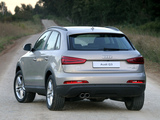 Audi Q3 2.0 TDI quattro ZA-spec 2012 photos