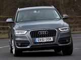 Audi Q3 2.0 TDI quattro UK-spec 2012 pictures