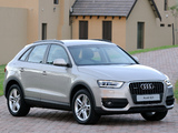 Audi Q3 2.0 TDI quattro ZA-spec 2012 wallpapers