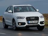 Images of Audi Q3 2.0 TDI quattro UK-spec 2012