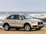 Photos of Audi Q3 2.0 TDI quattro ZA-spec 2012