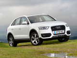 Photos of Audi Q3 2.0 TDI quattro UK-spec 2012