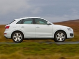Pictures of Audi Q3 2.0 TDI quattro UK-spec 2012