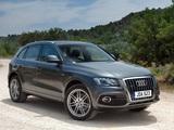Audi Q5 3.2 quattro S-Line UK-spec 2009 wallpapers