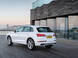 Images of Audi Q5 TDI quattro S line UK-spec 2017