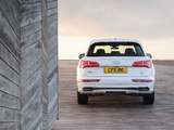 Photos of Audi Q5 TDI quattro S line UK-spec 2017