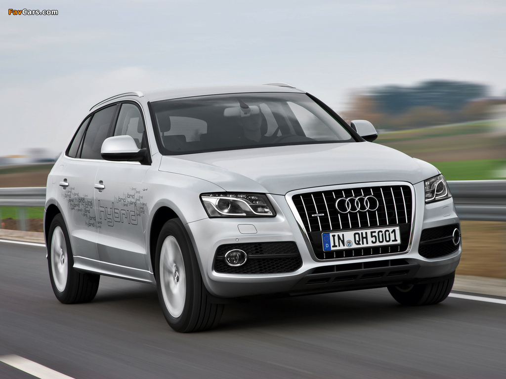 audi q5 hybrid quattro 8r 2011 wallpapers 1024x768. Black Bedroom Furniture Sets. Home Design Ideas