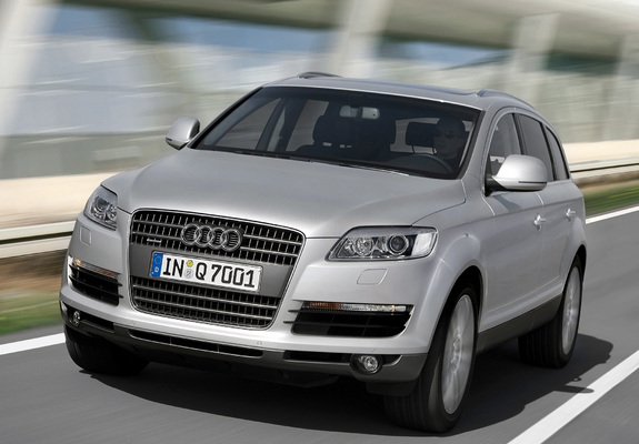audi q7 4 2 tdi quattro 2006 09 wallpapers. Black Bedroom Furniture Sets. Home Design Ideas