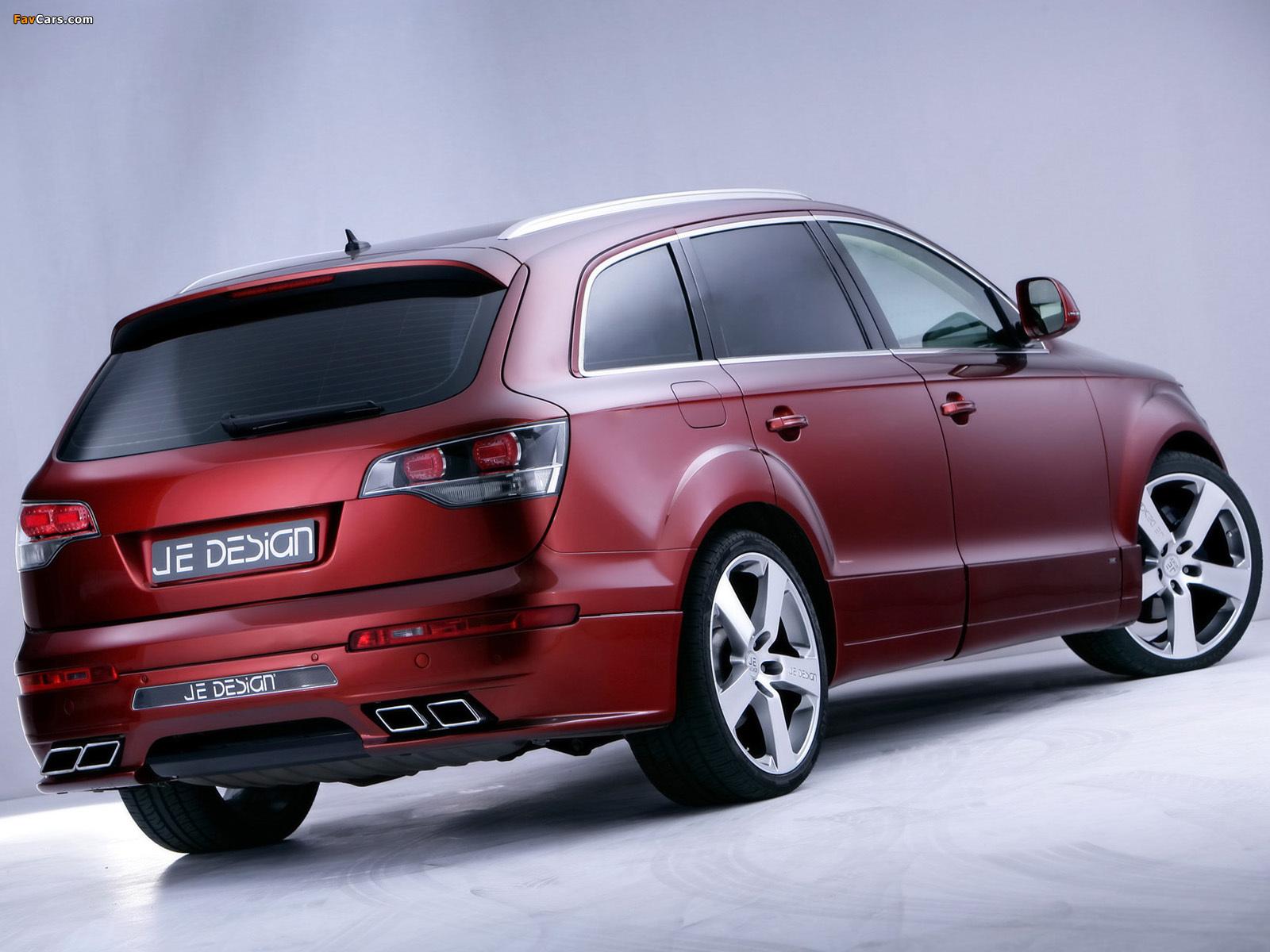 Je Design Audi Q7 Street Rocket 2007 pictures (1600 x 1200)