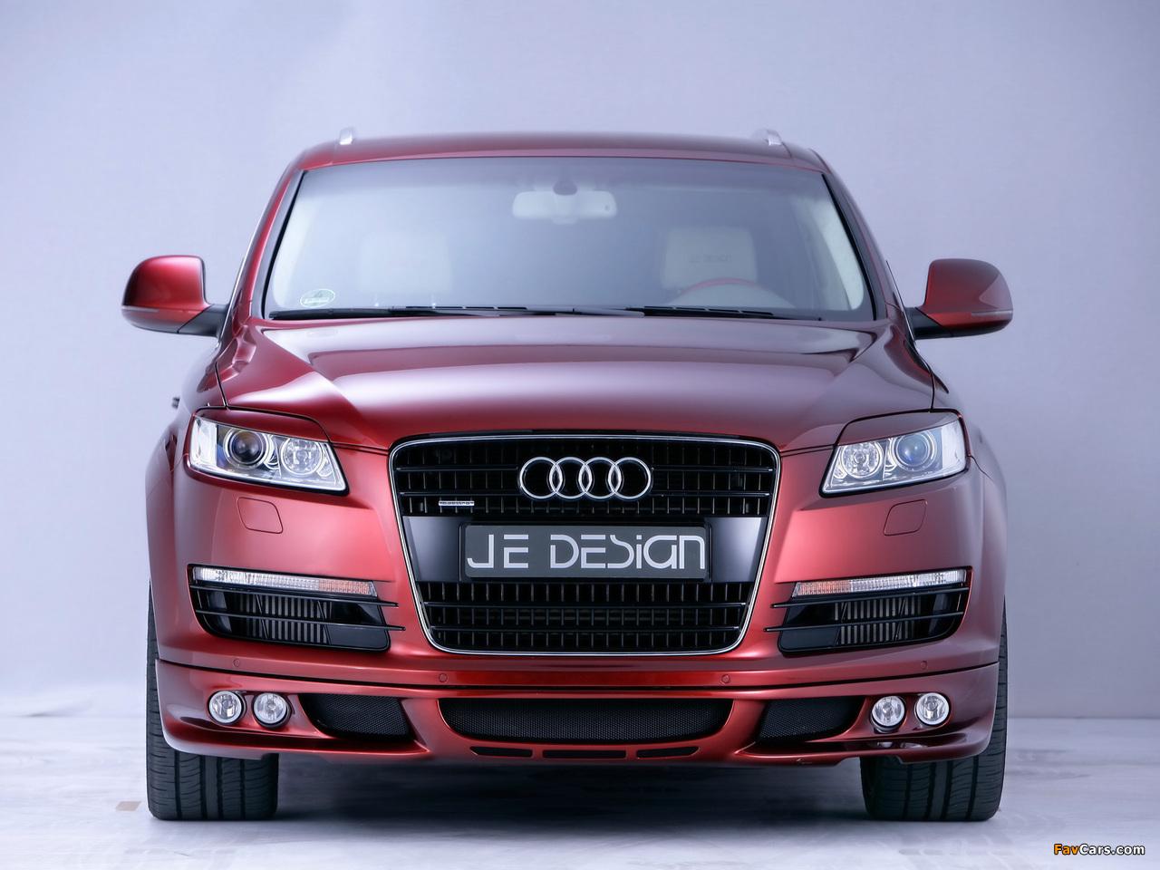 Je Design Audi Q7 Street Rocket 2007 wallpapers (1280 x 960)