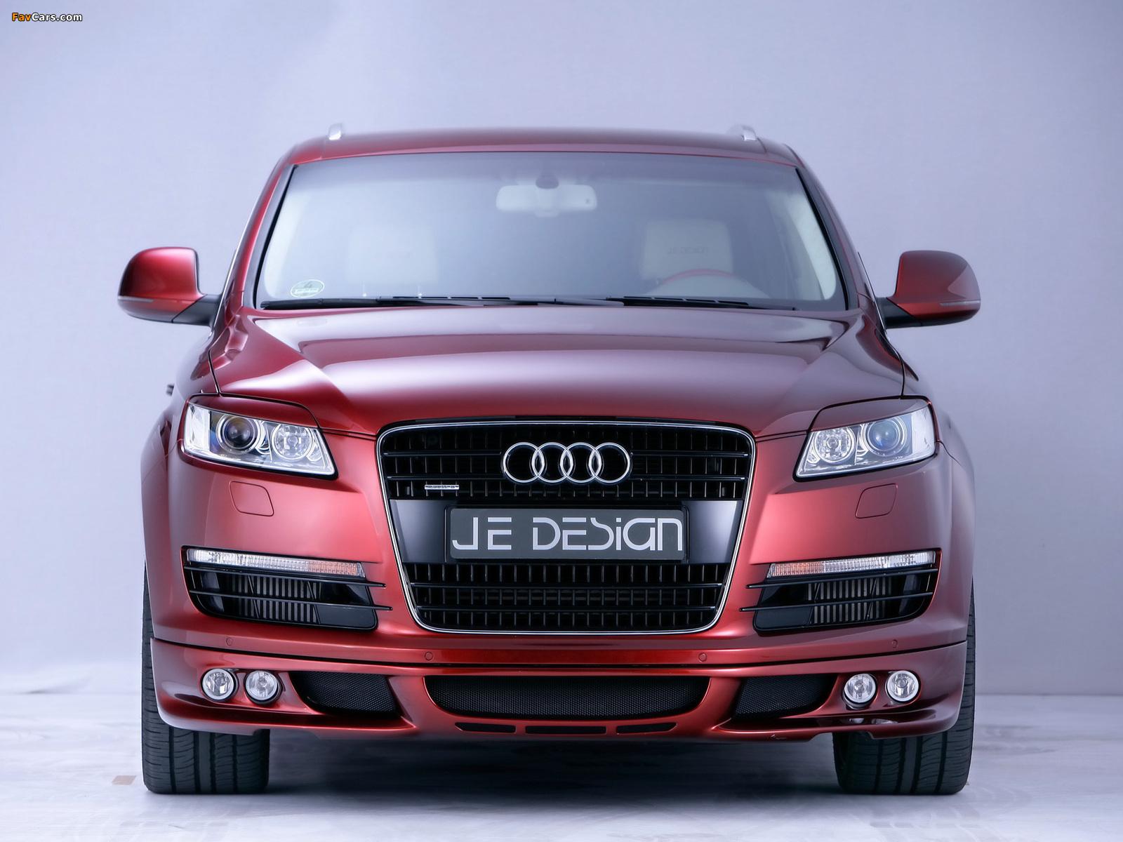 Je Design Audi Q7 Street Rocket 2007 wallpapers (1600 x 1200)